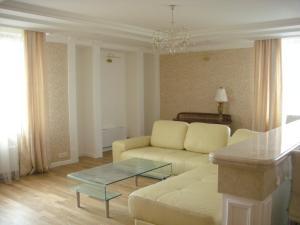 Лаундж или бар в Apartment on Khoroshevskoe