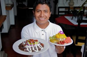 Staff members at Casa Sirena Hotel Isla Mujeres