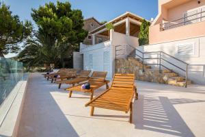 Patio nebo venkovní prostory v ubytování Villa Perla