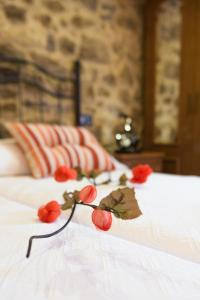 A bed or beds in a room at Casa Carla