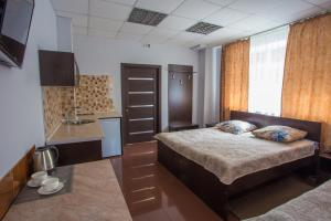 A room at Hotel Baikal