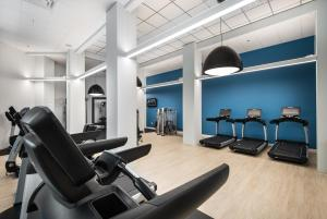 The fitness center and/or fitness facilities at Hilton Orlando Buena Vista Palace - Disney Springs Area