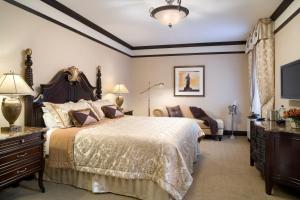 Cama o camas de una habitación en Hotel Lucerne