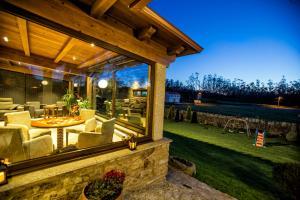 A porch or other outdoor area at Casa Castiñeira