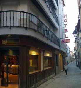 The facade or entrance of Hotel Bayona