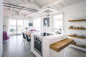 Küche/Küchenzeile in der Unterkunft Corte Campioli Hotel & Country House