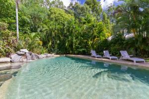 The swimming pool at or near Port Douglas Plantation Resort