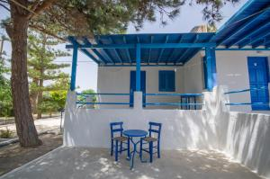 A patio or other outdoor area at Gialos Studios & Apartments