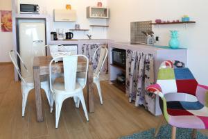 A cozinha ou cozinha compacta de Residence Sunset Beach bord de mer