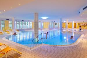 The swimming pool at or near Dorint Seehotel Binz-Therme