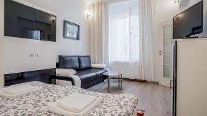 Area soggiorno di Garden Apartment