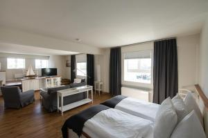 A room at Pierspeicher Boutique Hotel