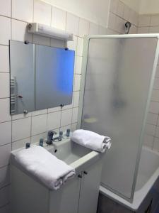 A bathroom at Appartement Le Saint-Charles