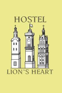 The floor plan of Lions Heart Hostel
