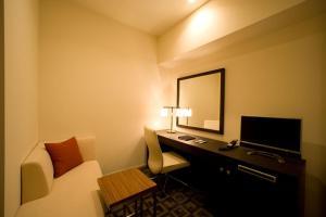 호텔 베스트랜드 TV 또는 엔터테인먼트 센터