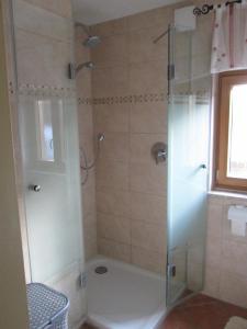 Ein Badezimmer in der Unterkunft Wagnerhof