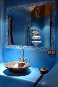 Un baño de Kasbah Hotel Tombouctou