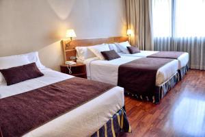 A room at Hotel HLG CityPark Pelayo