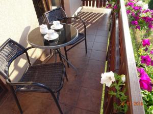 Zestaw do parzenia kawy i herbaty w obiekcie Willa ZŁOTY OGRÓD