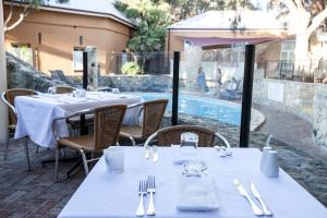 A restaurant or other place to eat at Karma Rottnest