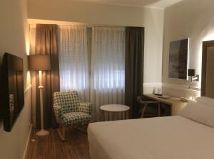 Una habitación en Hotel Goya