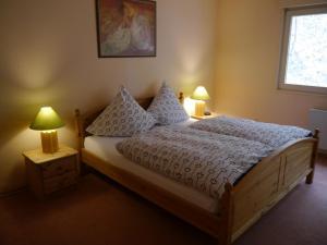 Ein Zimmer in der Unterkunft Haus Honigstal