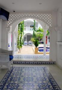 The lobby or reception area at Hotel Casa Mara By Akel Hotels