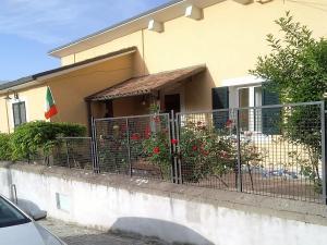 A balcony or terrace at B&B Porta Bazzano