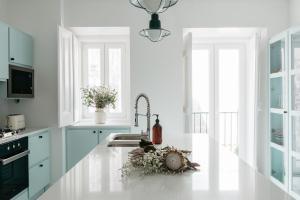 A kitchen or kitchenette at Casa C'Alma