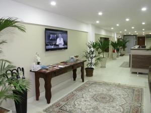 O saguão ou recepção de Hotel & Pousada Princesa Isabel Rua Teresa