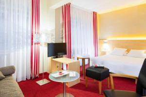 A room at Auberge Sundgovienne