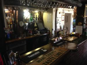 The lounge or bar area at The Tally Ho Inn