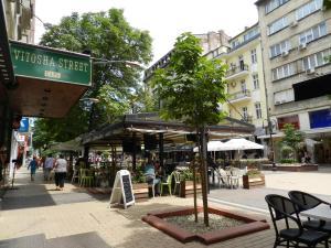The facade or entrance of Central Hotel Sofia