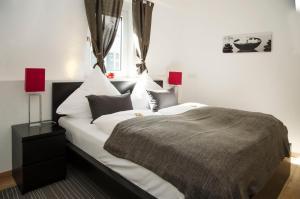 Ein Zimmer in der Unterkunft Apart Hotel Paradies