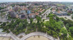 A bird's-eye view of Apartamentos Las Brisas