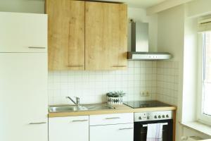 Küche/Küchenzeile in der Unterkunft Hotel Brauhaus Weyhausen