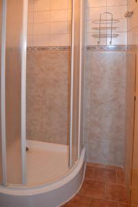 Koupelna v ubytování Pension Skalka