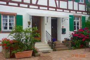 Een patio of ander buitengedeelte van Ferienhaus Wagner