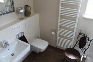 Ein Badezimmer in der Unterkunft Fewo-Sigmaringen