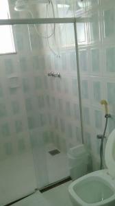A bathroom at Solar Hotel
