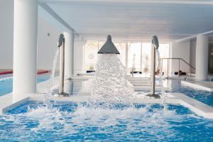 The swimming pool at or near Aqvatonic Hotel - Steaua de Mare