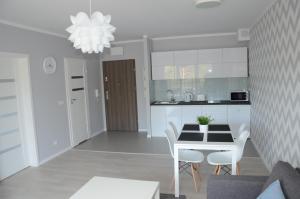 Kuchnia lub aneks kuchenny w obiekcie Apartament Gold