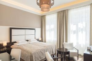 Un ou plusieurs lits dans un hébergement de l'établissement Hotel Spiess & Spiess