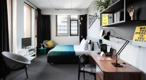 A room at The Student Hotel Amsterdam City