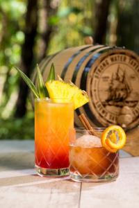 Drinks at Universal's Loews Sapphire Falls Resort