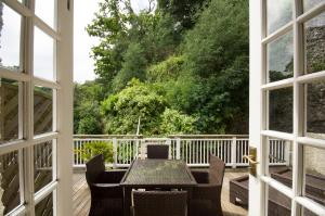 A porch or other outdoor area at Chateau La Chaire