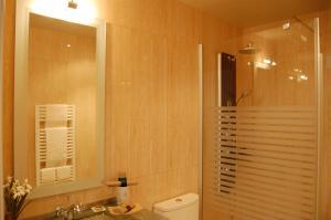 A bathroom at La Siuranella
