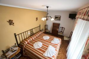 A room at Hostal Camino de Santiago
