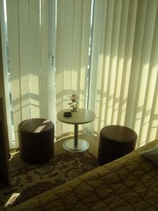 A seating area at Hotel Strimon Bed and Breakfast