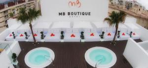 A view of the pool at MB Boutique Hotel - Adults Only or nearby